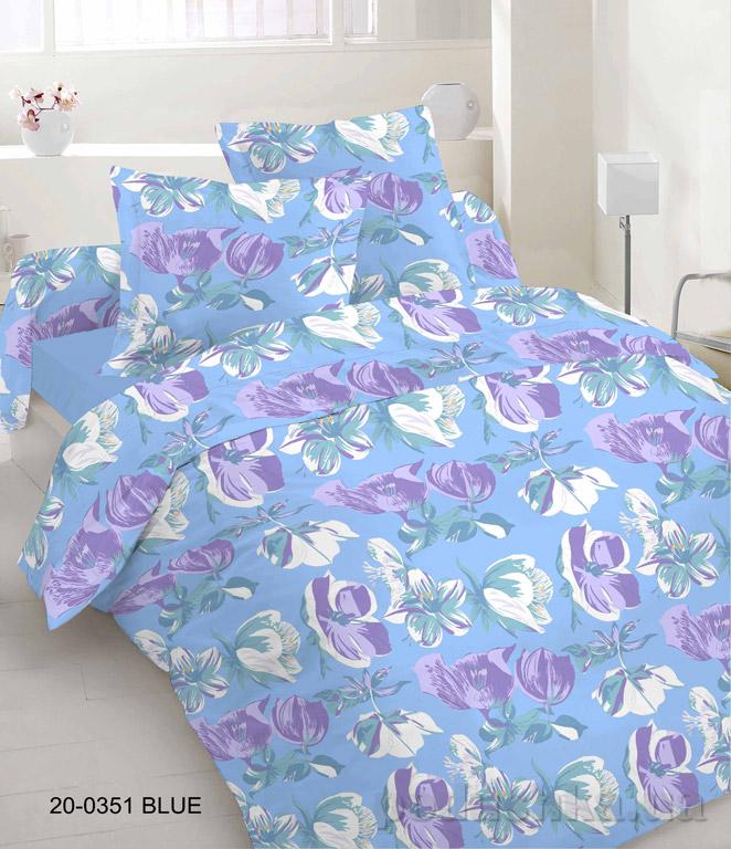 Постельное белье Руно бязь 20-0351 Blue