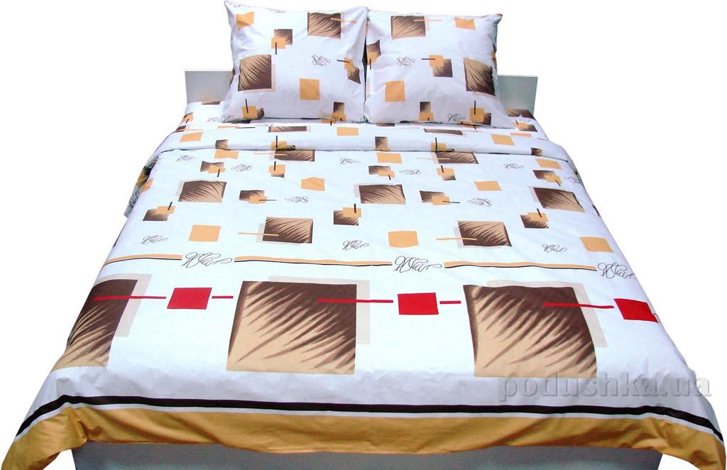 Постельное белье Руно бязь 30-0113 brown Семейный комплект с увеличенной простыней Руно