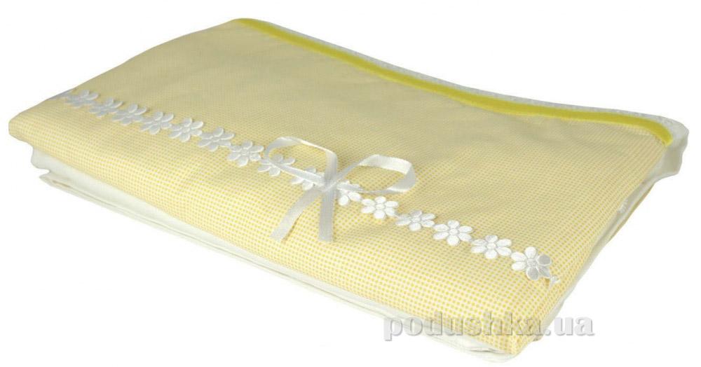 Постельное белье Руно Лапушка желтое Детский комплект  Руно