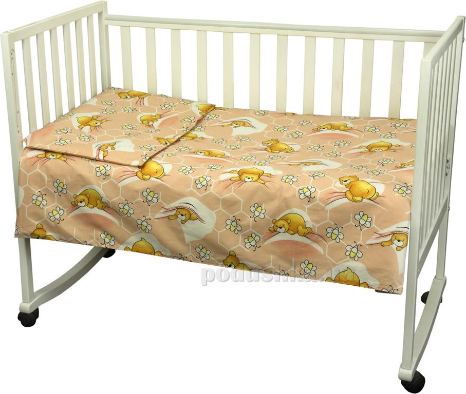 Постельное белье Руно Сладкий сон персиковое