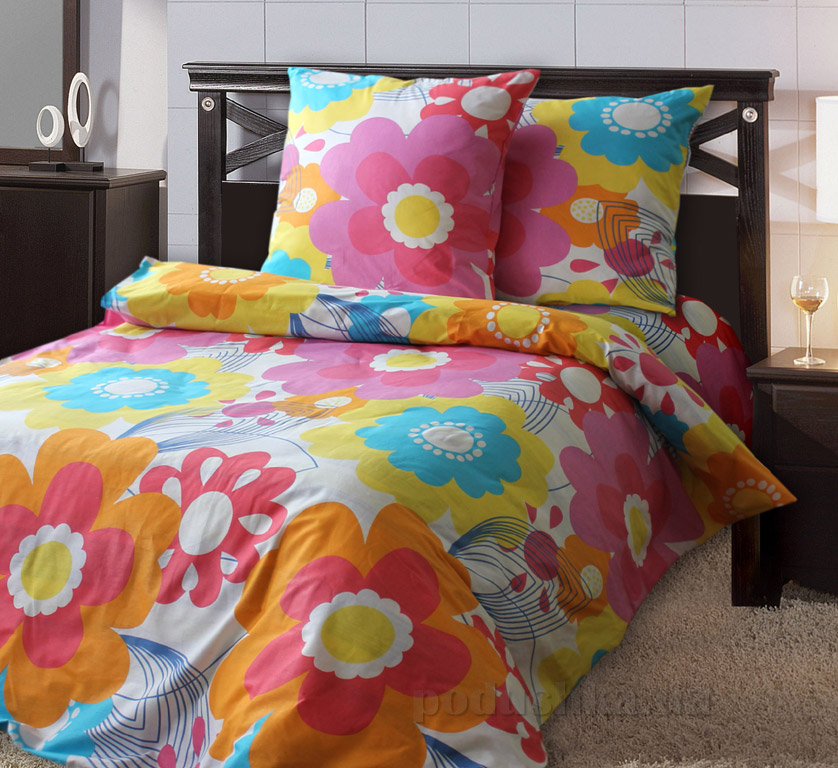 Постельное белье Руно бязь 4322-4323 Цветик-семицветик