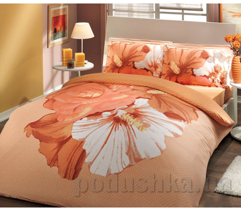 Постельное белье Hobby Sateen Deluxe Rose персиковый