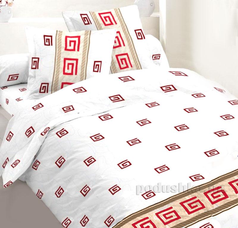 Постельное белье Sergio S.106 RED бязь