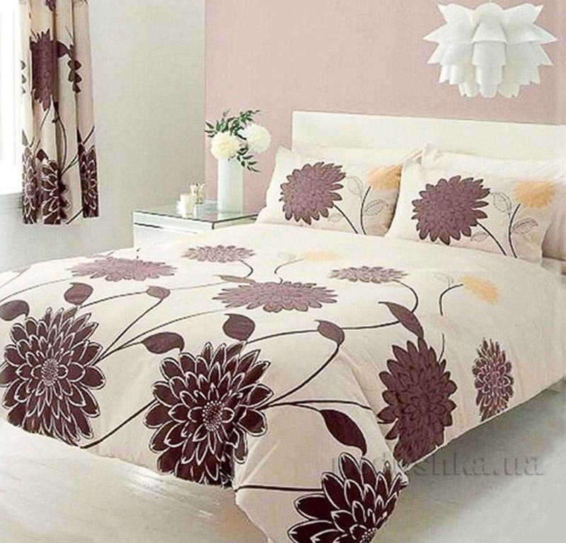 Постельное белье Шоколадная хризантема Світ Сну