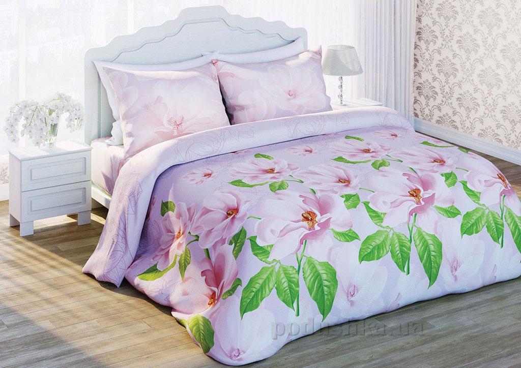 Постельное белье Сладкий сон Сияющая магнолия Двуспальный евро комплект  Сладкий Сон