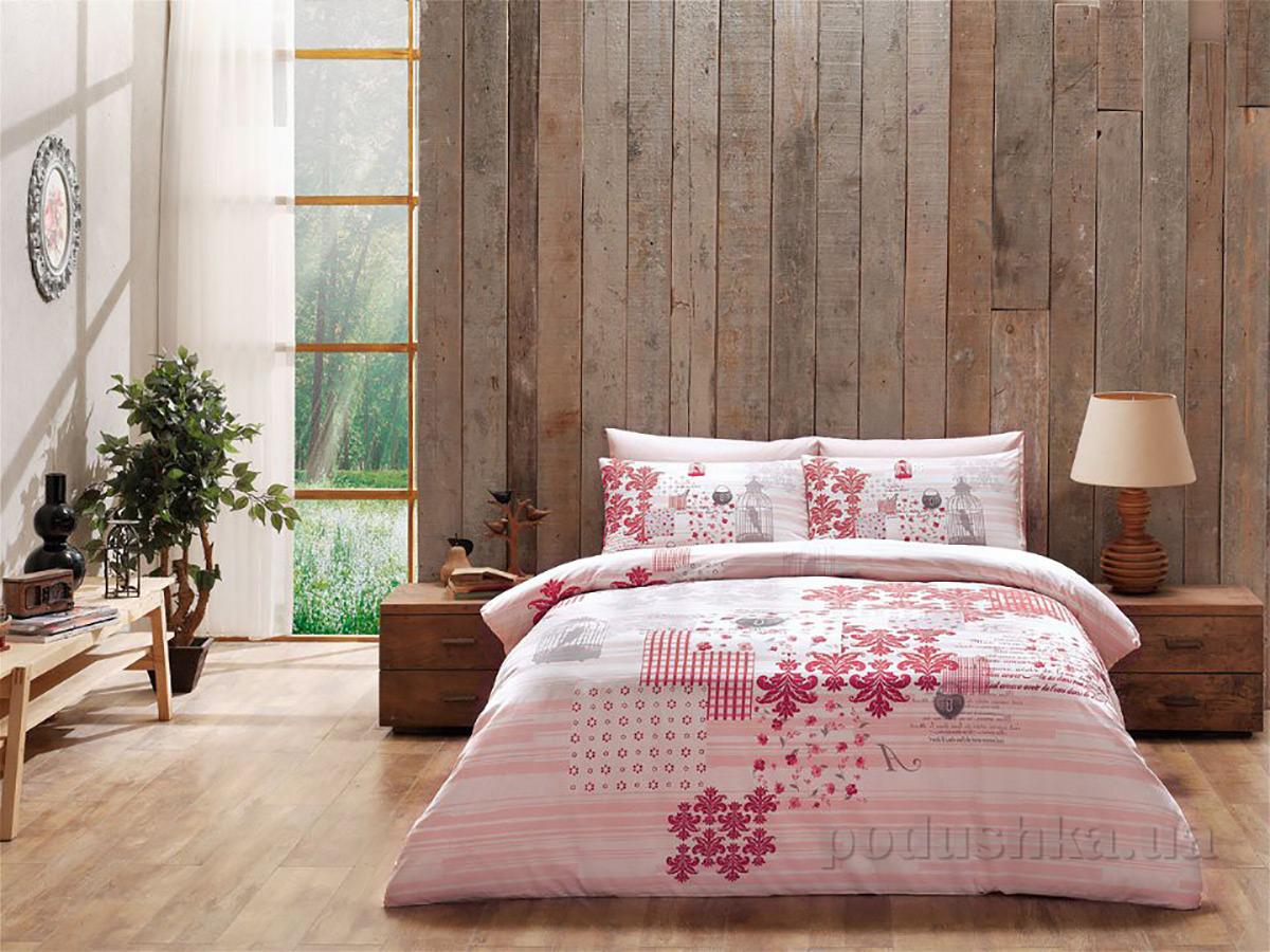 Постельное белье TAC Armina V02 розовое