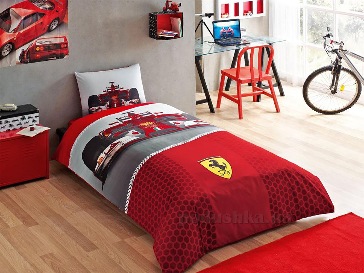Постельное белье TAC Disney Ferrari F1 Race
