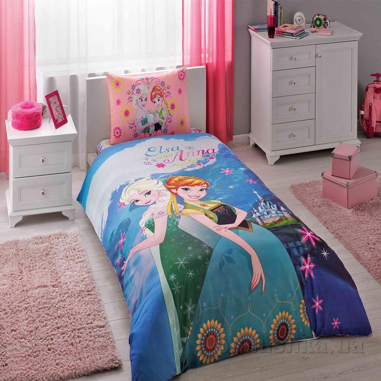 Постельное белье TAC Disney Frozen Elsa and Anna