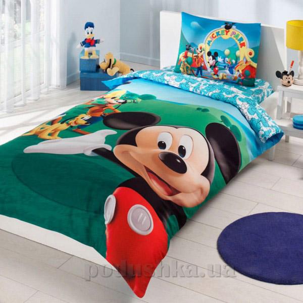 Постельное белье TAC Disney Mickey Mouse club