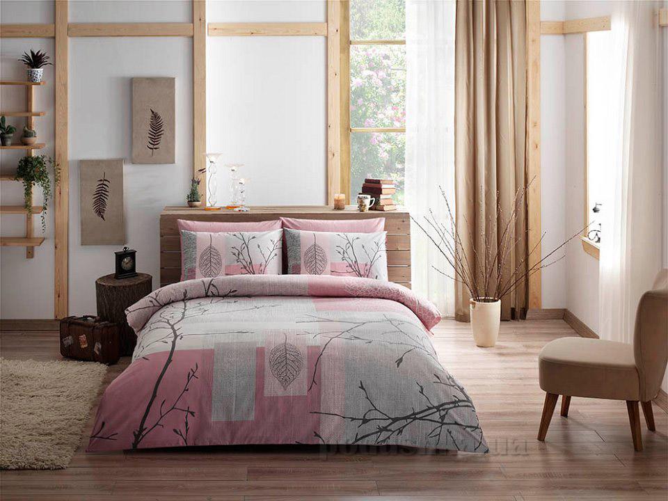 Постельное белье TAC Laurel V03 розовое