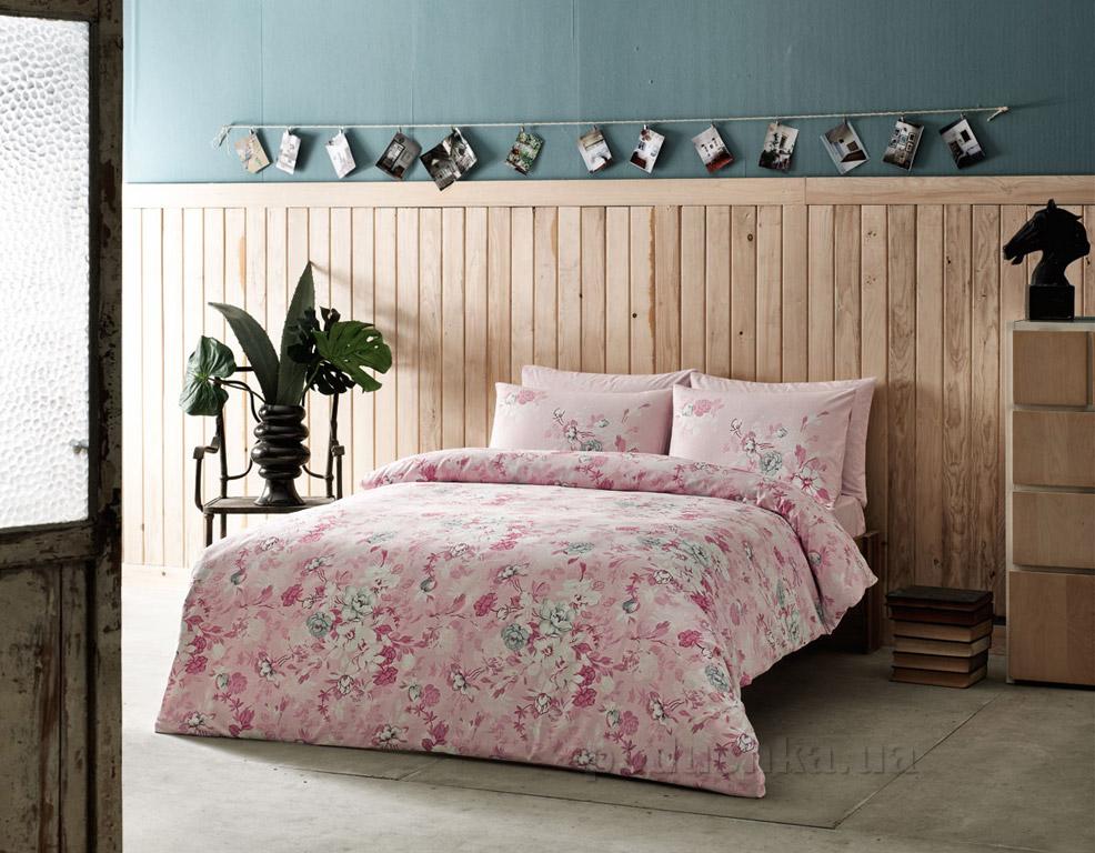 Постельное белье TAC Olivia розовое