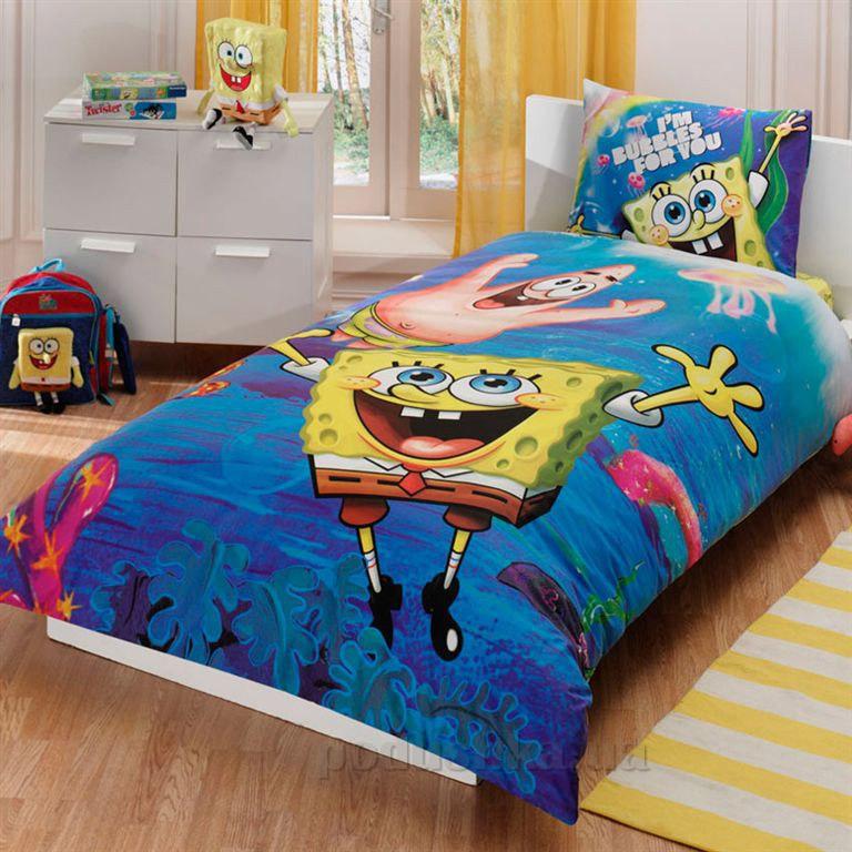 Постельное белье TAC Sponge Bob underwater