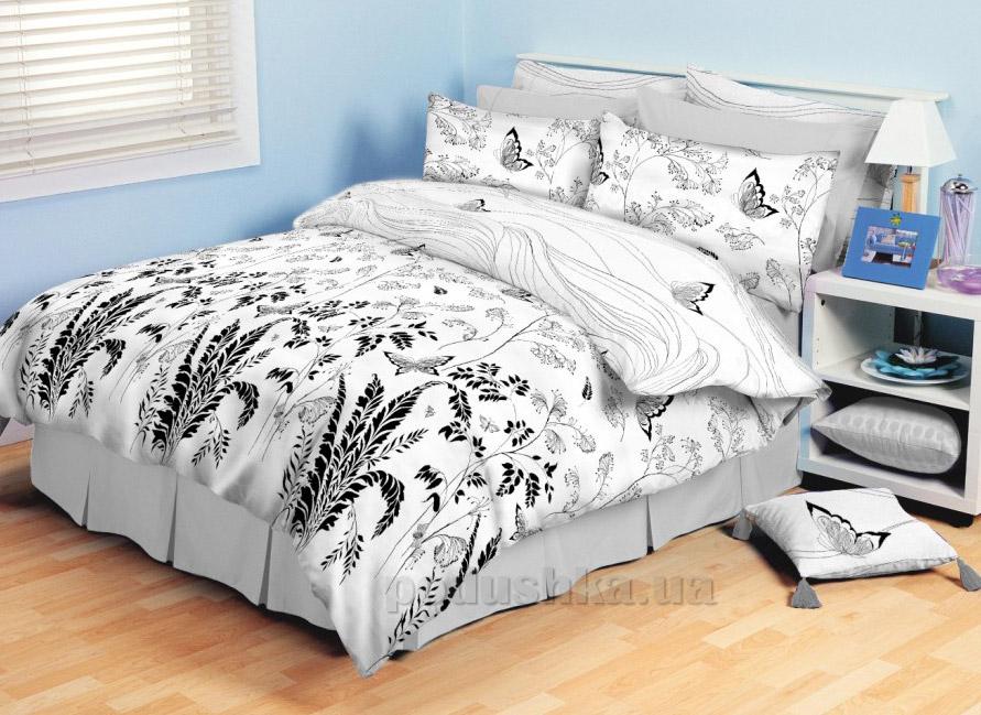 Постельное белье ТЕП Колорит Premium collection Бабочки белые 904