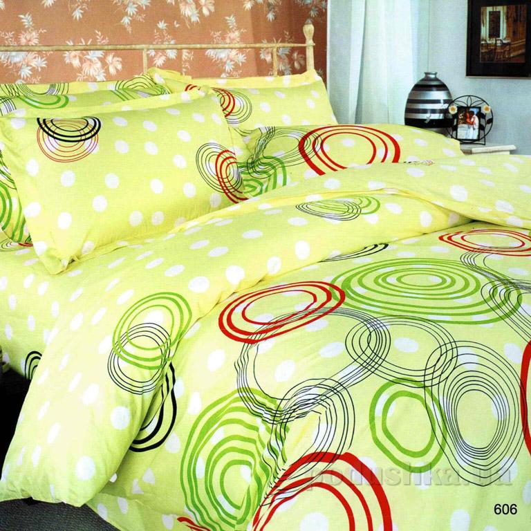 Постельное белье ТЕП Круг разноцветный 606