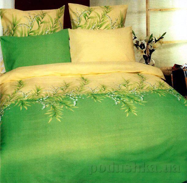 Постельное белье ТЕП Ландыш зеленый 655