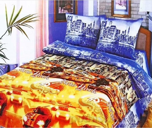 Постельное белье Top Dreams Ночной город Семейный комплект  TOP Dreams