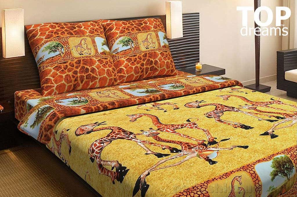Постельное белье Top Dreams Жирафы