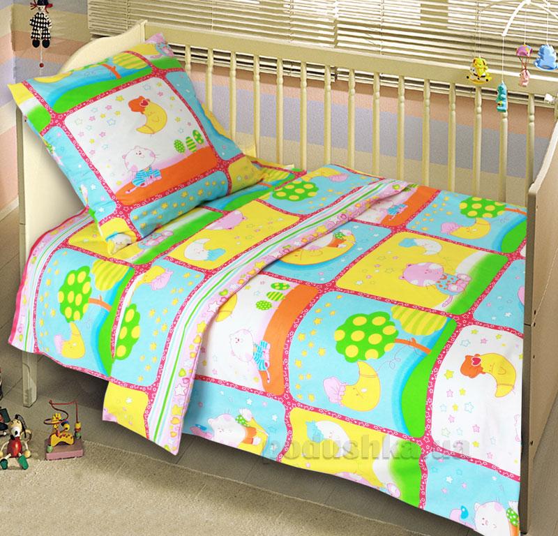 Постельное белье в кроватку Блакит Сладкий сон