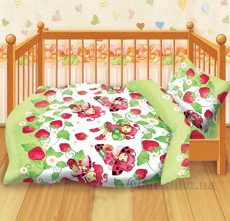 Постельное белье в кроватку Божья коровка 282098