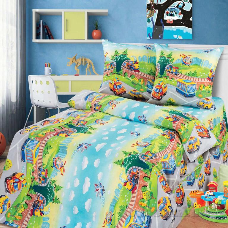 Постельное белье в кроватку KidsDreams Детский парк