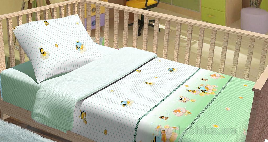 Постельное белье в кроватку KidsDreams Компашка