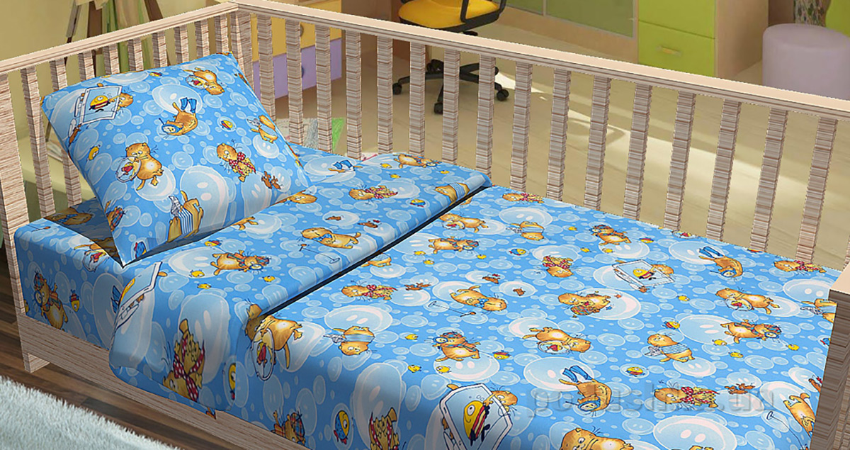 Постельное белье в кроватку KidsDreams Подводное приключение