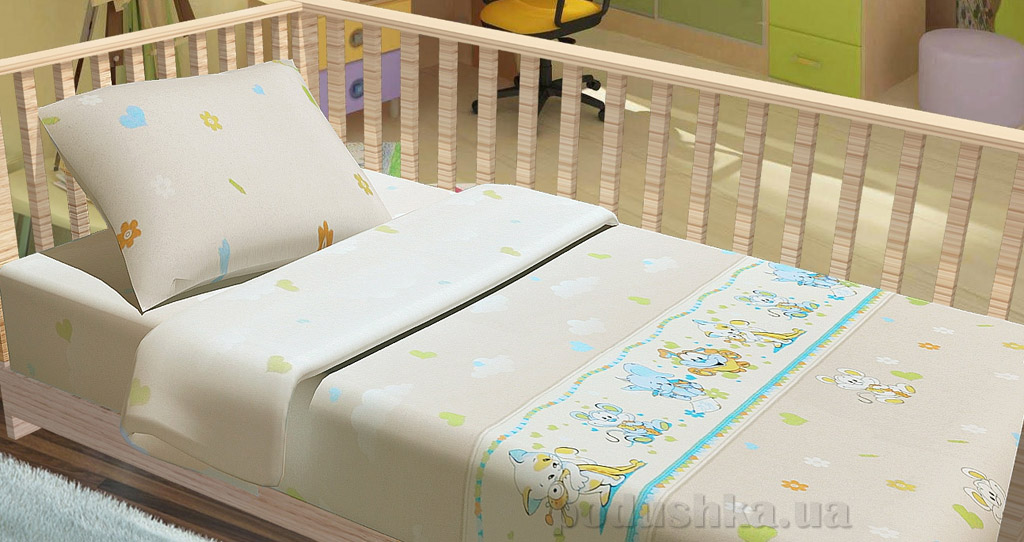 Постельное белье в кроватку KidsDreams Улыбка