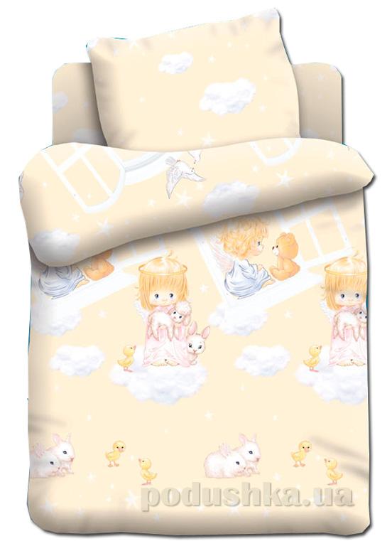Постельное белье в кроватку Непоседа Ангелочки