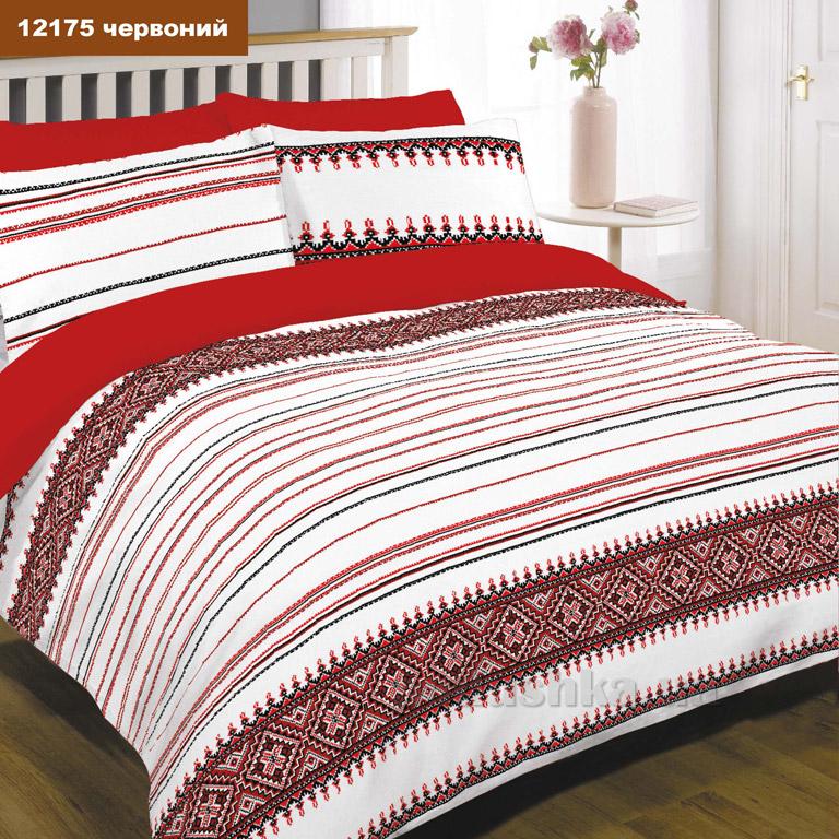 Постельное белье Вилюта ранфорс 12175 красное