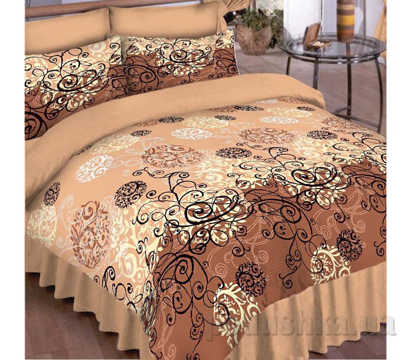 Постельное белье Вилюта Platinum 8444 коричневый