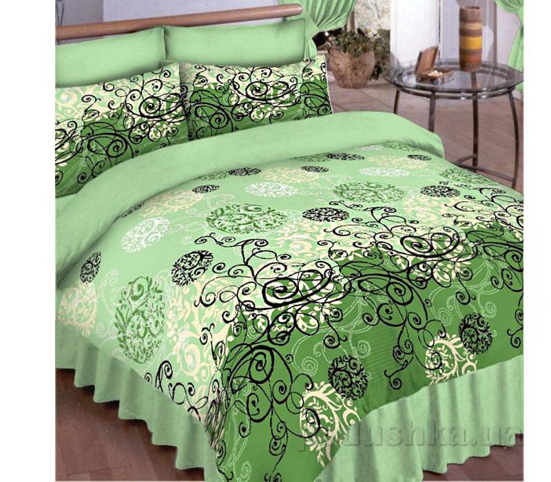 Постельное белье Вилюта 8444 зеленый