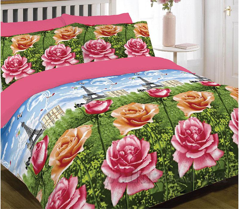 Постельное белье Вилюта Ранфорс розовый 9142