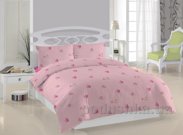 Постельное белье Weekend Rosa dots розовое