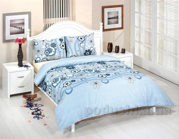 Постельное белье Zambak Ranforce 25753 голубое
