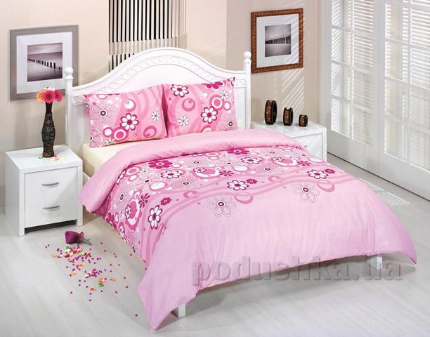 Постельное белье Zambak Ranforce 25753 розовое