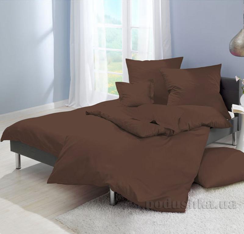 Постельное белье Zambak Ranforce Color Brown