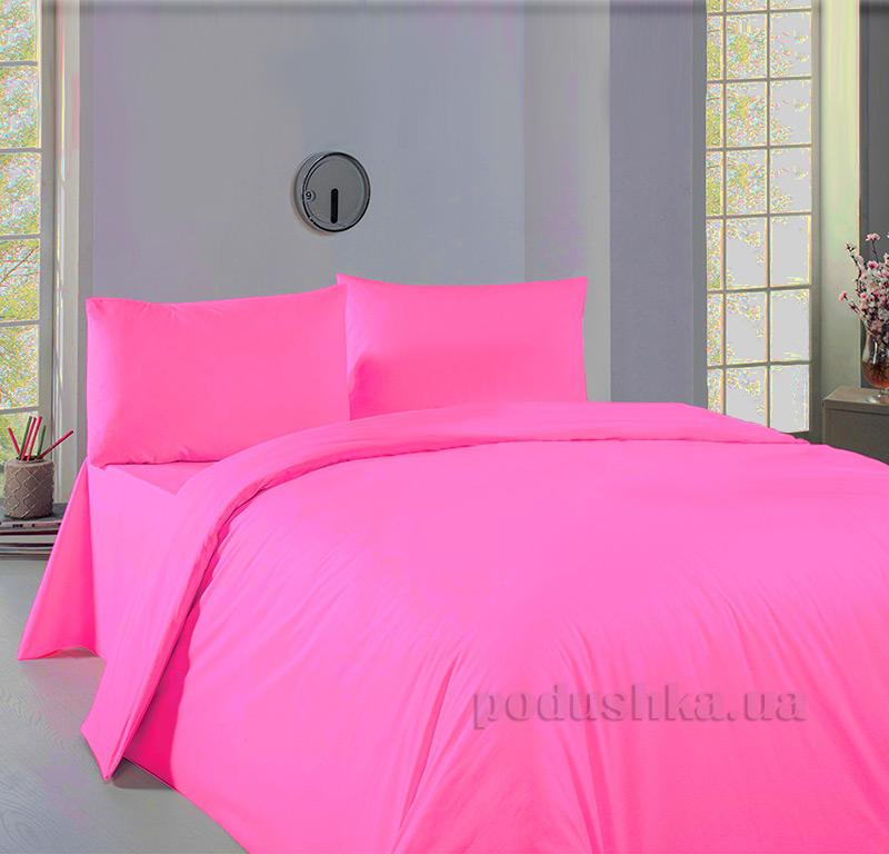 Постельное белье Zambak Ranforce Color Fushia