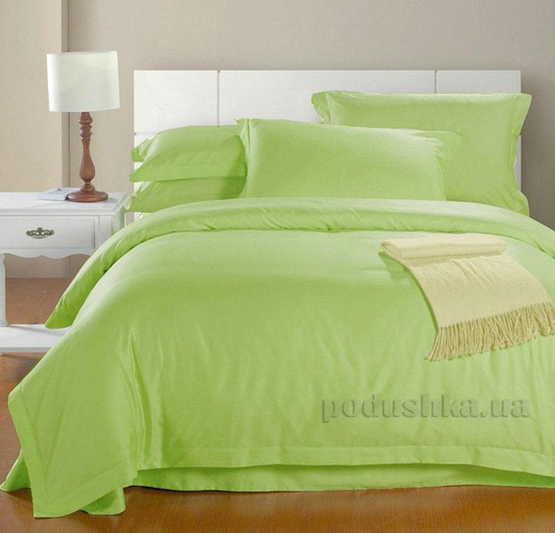 Постельное белье Zambak Ranforce Color Green