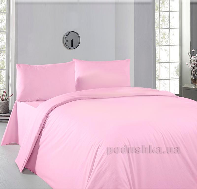 Постельное белье Zambak Ranforce Color Pink