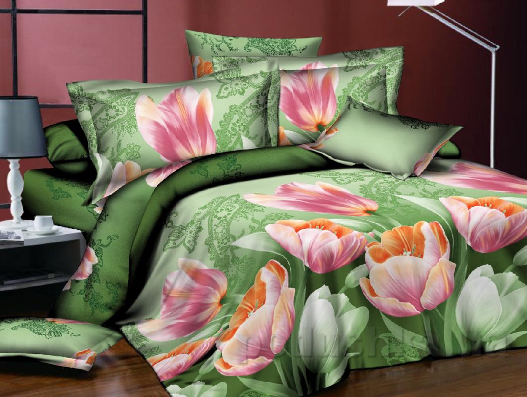 Купить:  Постельное белье Zastelli 11082 Семейный комплект  Zastelli