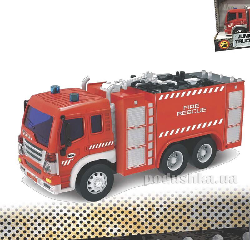 Пожарная машина Junior Trucker 28 см со светом и звуком Dave Toy 33016