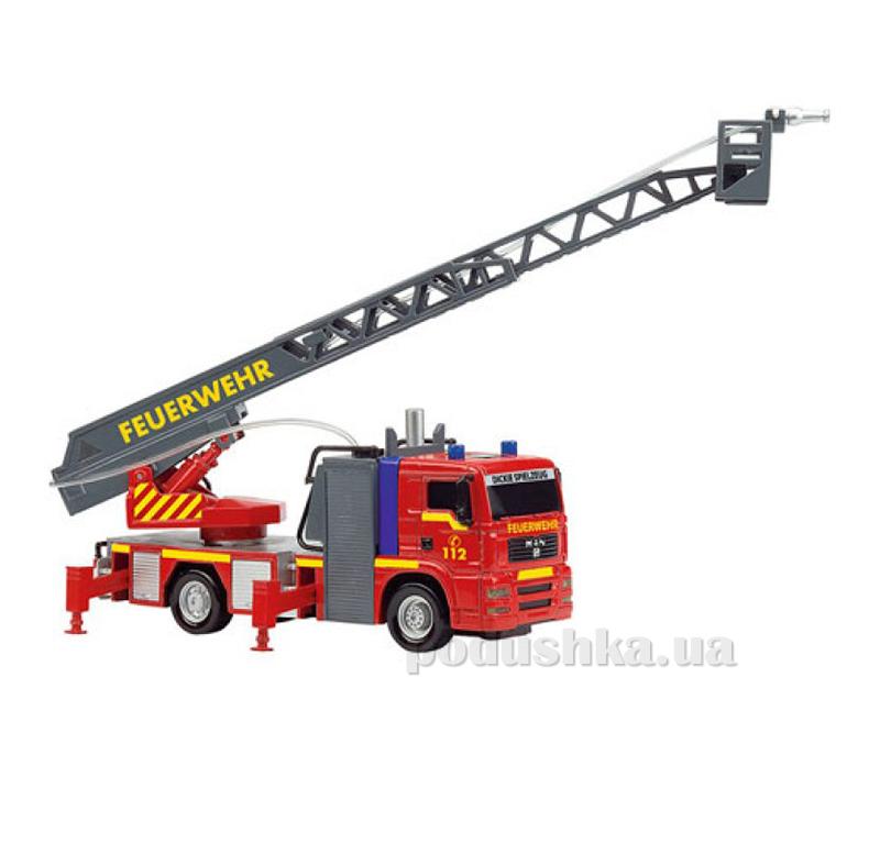 Пожарная машина с звуком, светом и водяным эффектом Dickie 3443993