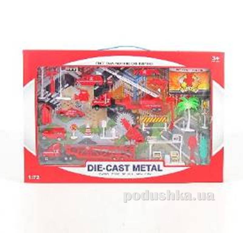 Пожарный набор для мальчика Die-Cast Set 486729PFI