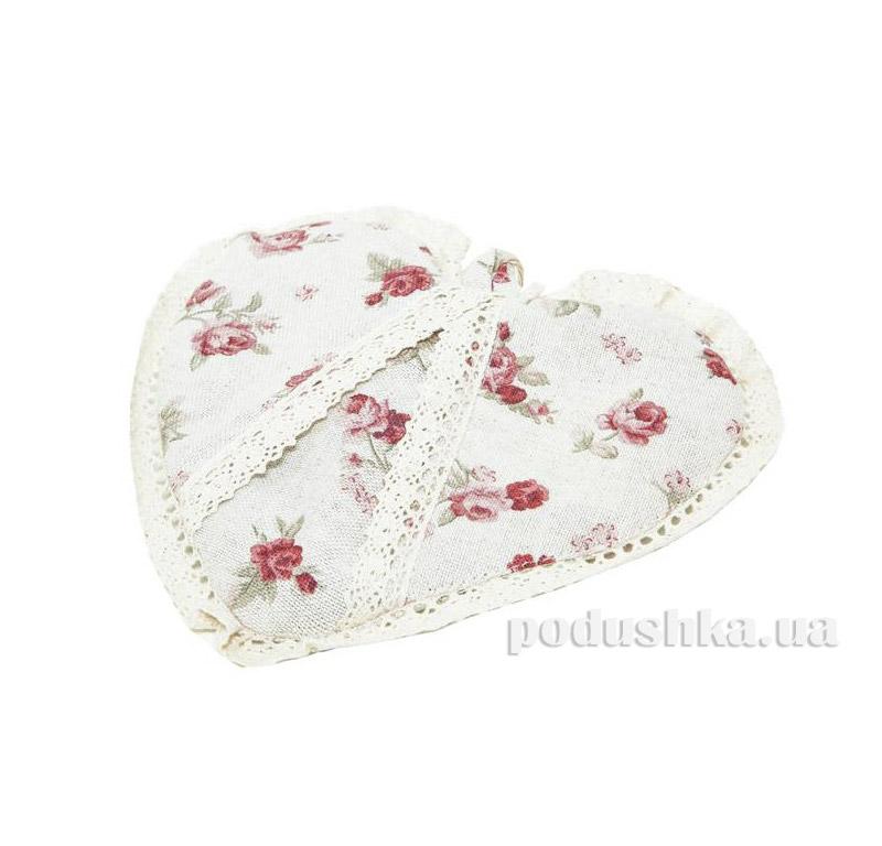 Прихватка сердце Red rose Прованс 1728
