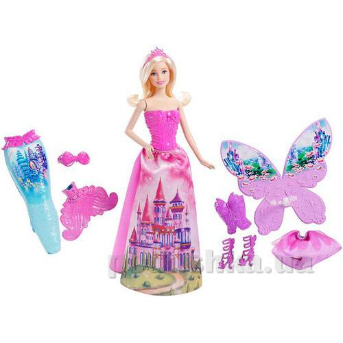 Принцесса Barbie в сказочных костюмах из серии Сочетай и смешивай