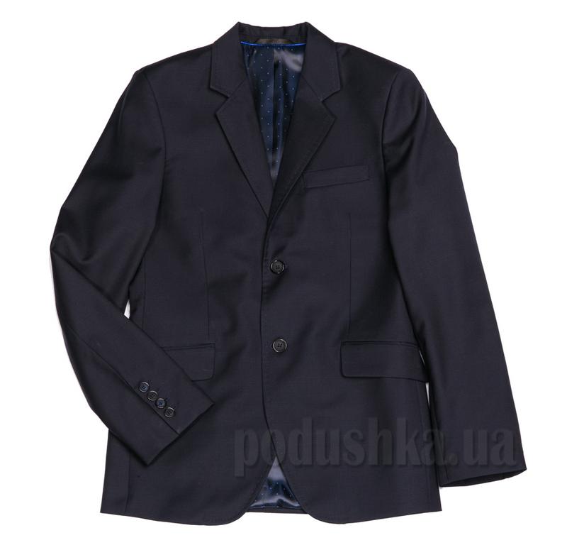 Приталенный пиджак для подростка Юность 207 синий