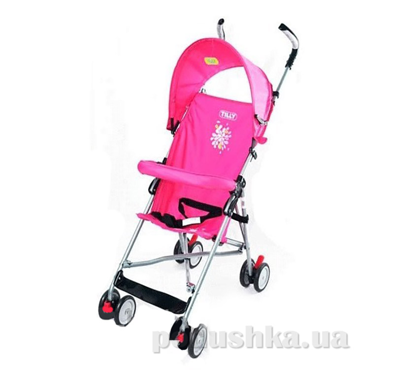 Прогулочная коляска - трость BabyTilly BT-SB- 0005А розовая