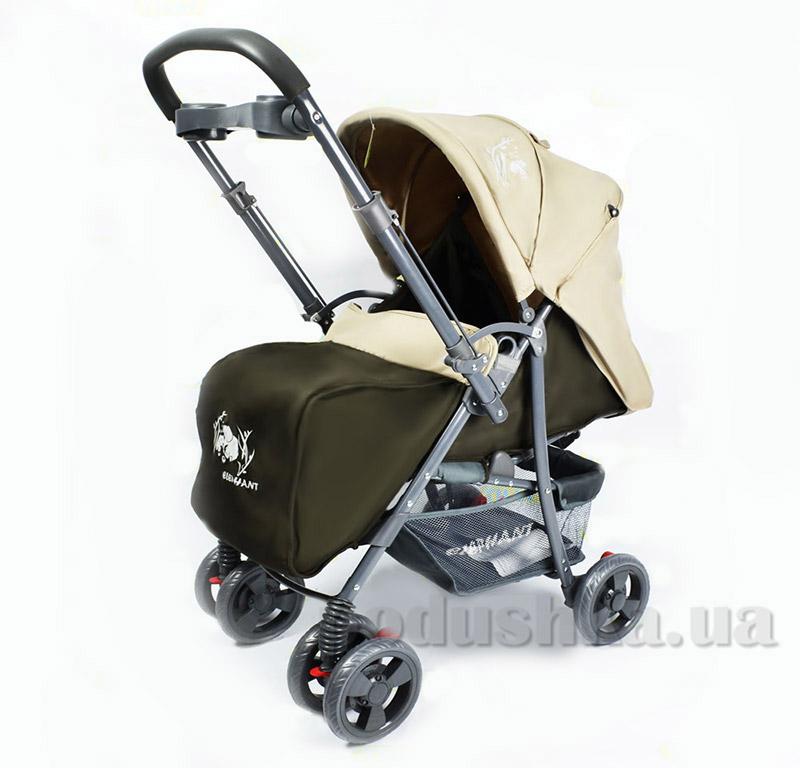 Прогулочная коляска BabyTilly BT-WS-0001 бежево-коричневая