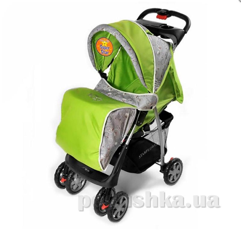 Прогулочная коляска BabyTilly S-K-5A салатовая