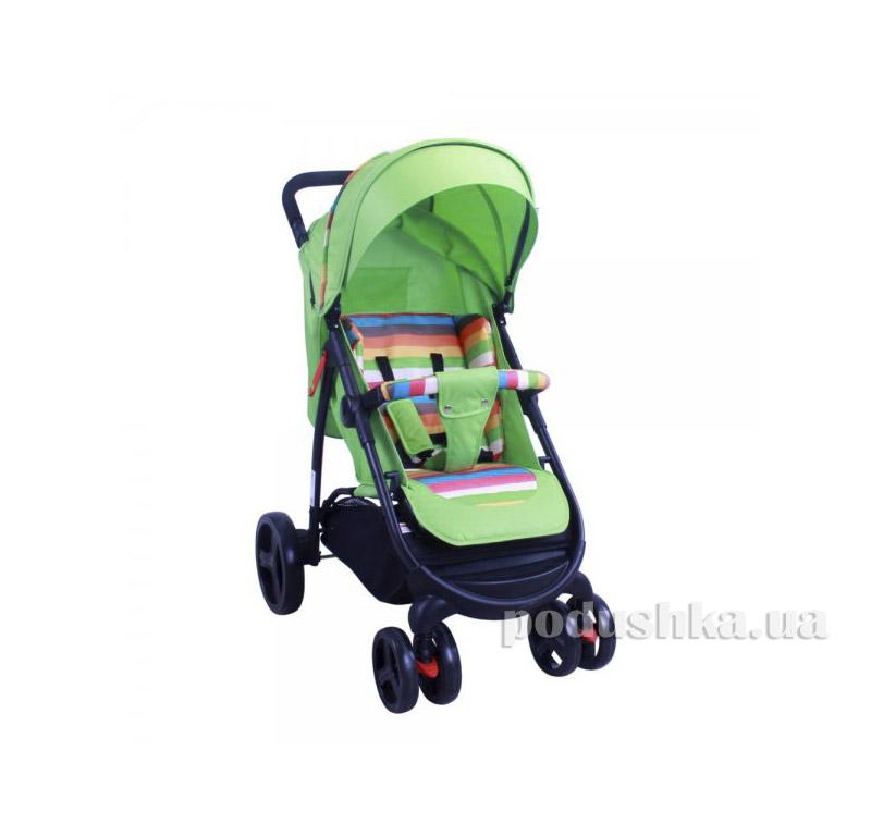 Прогулочная коляска Babyhit Racy Green strips